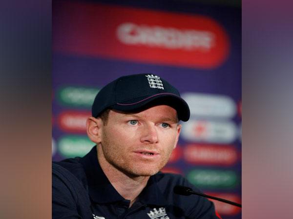 England captain Eoing Morgan