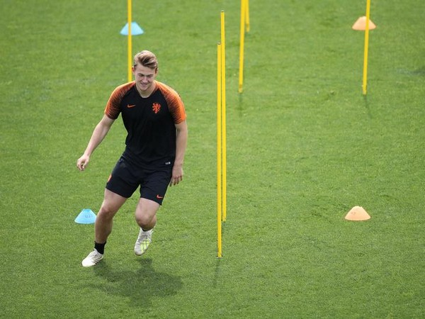 Dutch defender Matthjis De Ligt