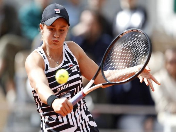 World number two tennis player Ashleigh Barty