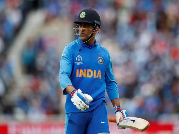 Indian cricketer MS Dhoni