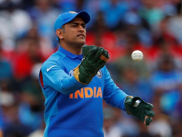 Indian wicket-keeper MS Dhoni in action against Australia