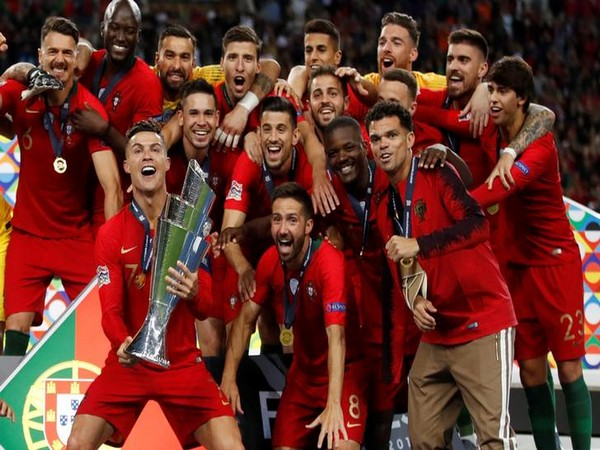 Portugal beat Netherlands to lift Nations League title here on Monday.