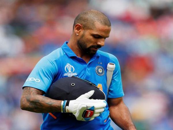 India opening batsman Shikhar Dhawan