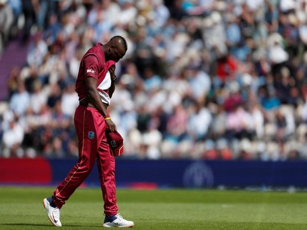 West Indies' all-rounder Andre Russell