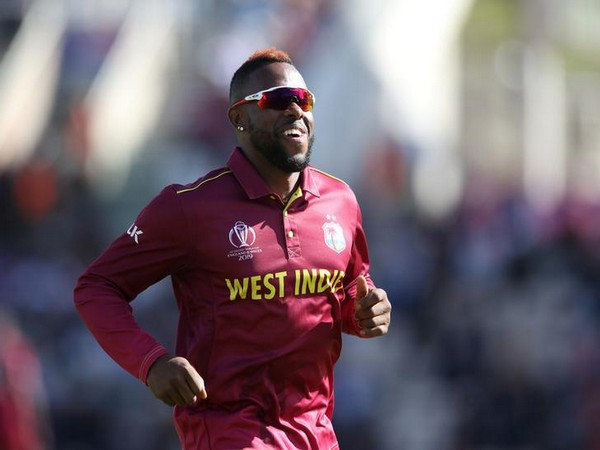 West Indies' Fabian Allen