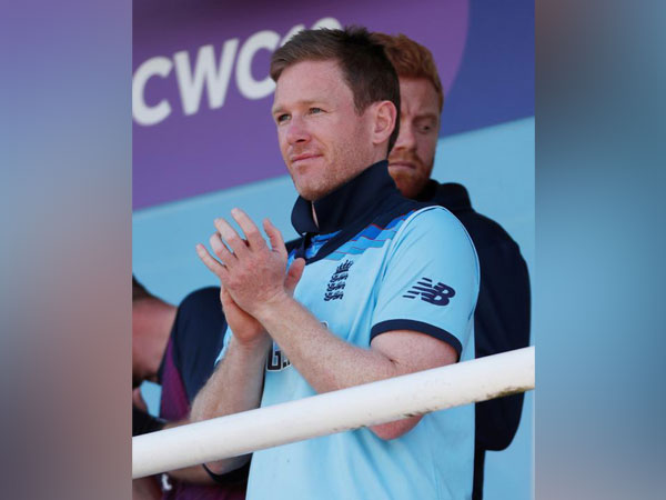 England skipper Eoin Morgan