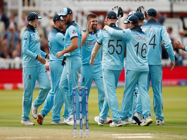 England cricket team against New Zealand in the World Cup final