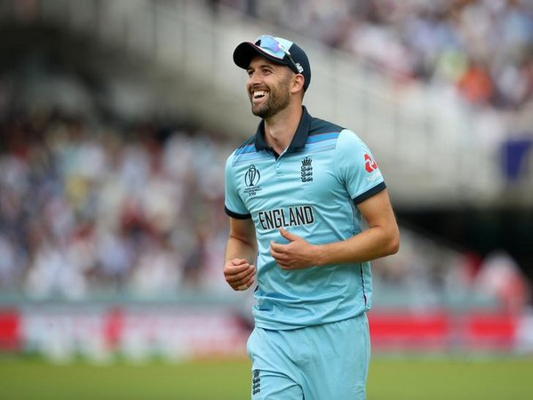 England pacer Mark Wood.