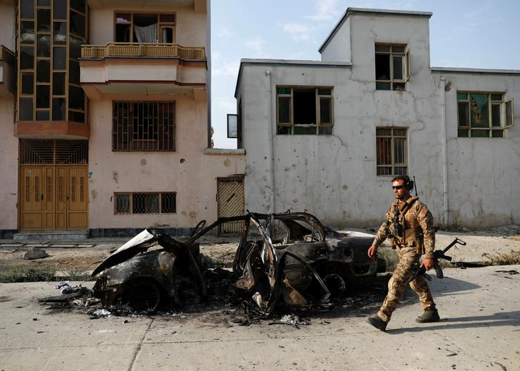 The attack, which continued for six hours, left 50 others injured. Atleast 16 civilians were among those killed.