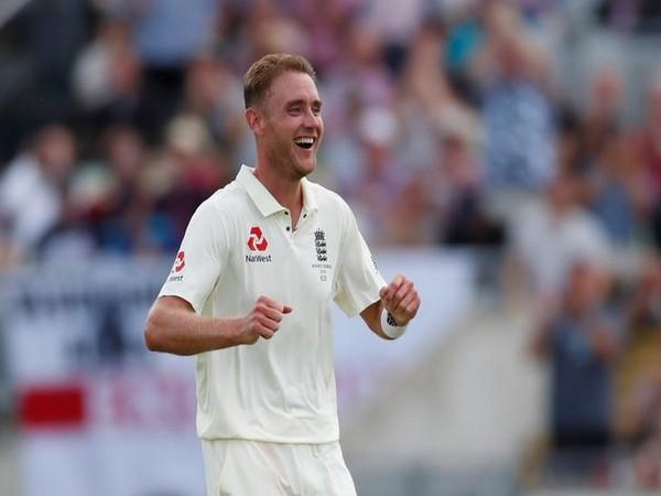 England pace bowler Stuart Broad