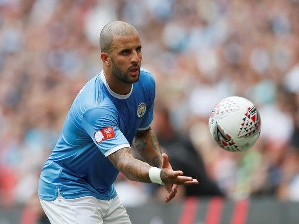 Manchester City's Kyle Walker in action against Liverpool