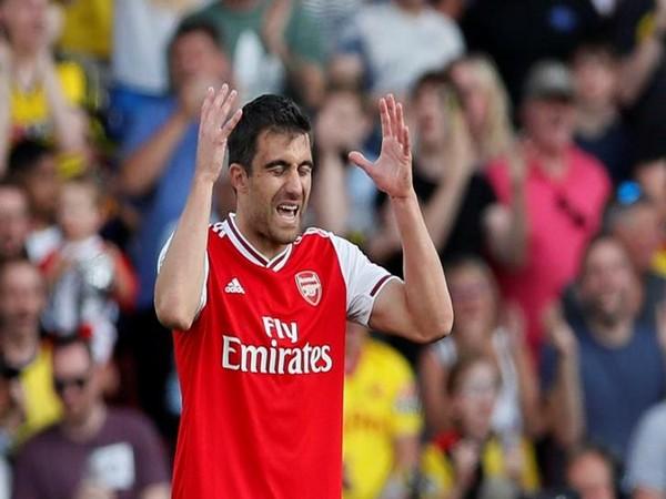 Arsenal's defender Sokratis