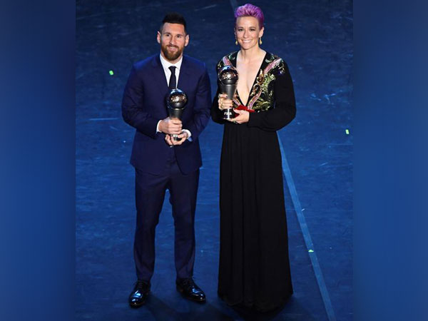 Lionel Messi and Megan Rapinoe named FIFA players of the year. (Photo Credits: Reuters)