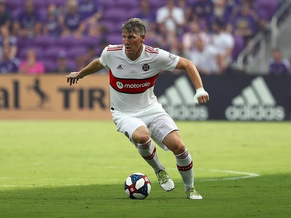 Germany's World Cup winner Bastian Schweinsteiger