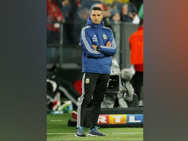 Argentina coach Lionel Scaloni