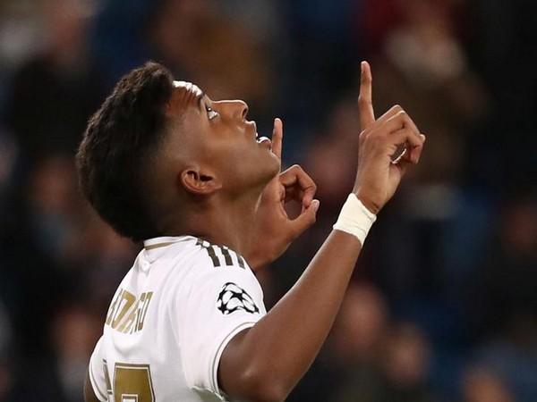 Real Madrid's Rodrygo