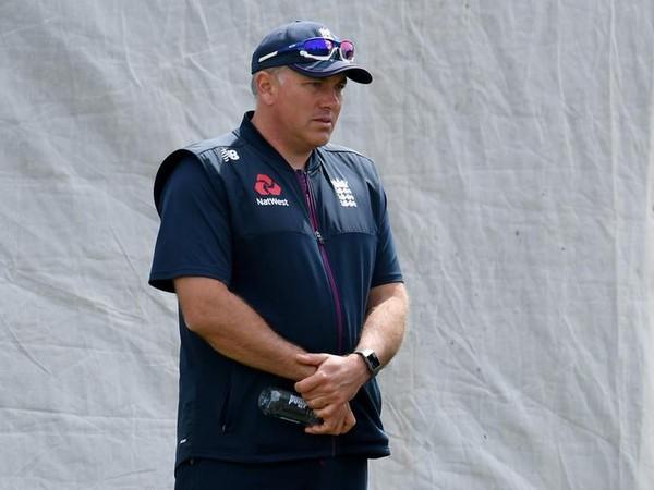 England coach Chris Silverwood