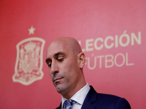 Spanish FA (RFEF) president Luis Rubiales