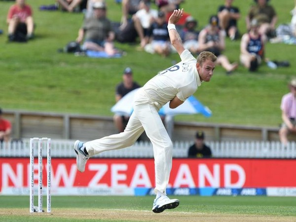 England pacer Stuart Broad in action against New Zealand