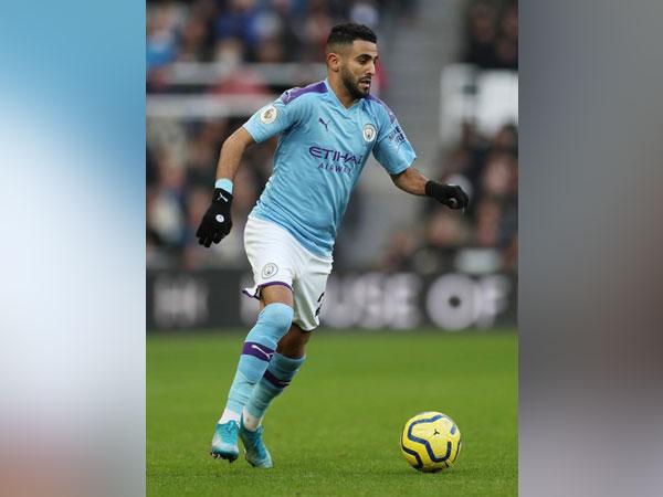 Manchester City winger Riyad Mahrez (file image)