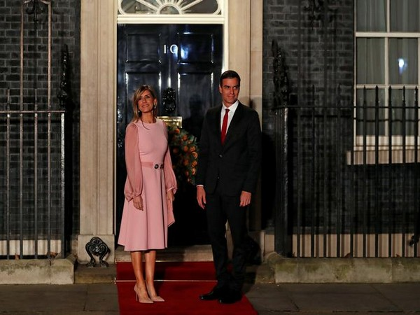 Spanish Prime Minister Pedro Sanchez and his wife Maria Begona Gomez Fernandez