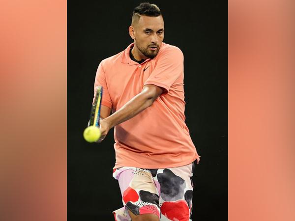 Australian tennis player Nick Kyrgios