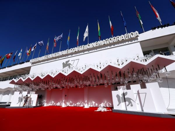 The Palazzo del Casino is pictured the day before the start of the 77th Venice International Film Festival.