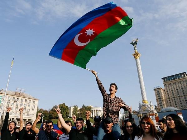 Azerbaijan flag (Credits: Reuters Pictures)