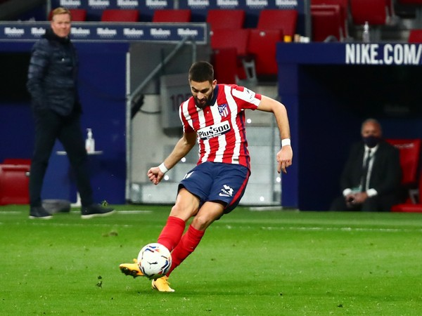 Atletico Madrid midfielder Yannick Carrasco
