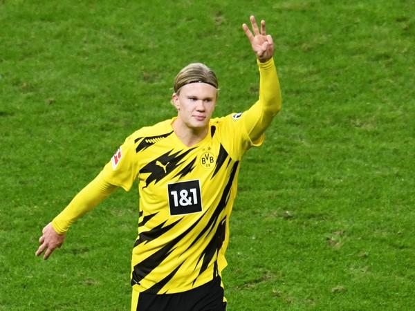 Borussia Dortmund star Erling Haaland (file image)
