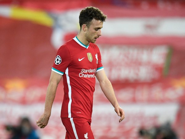 Liverpool striker Diogo Jota