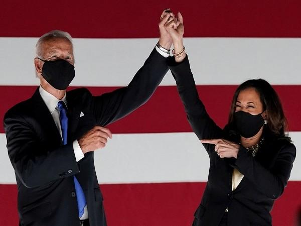 US President-elect Joe Biden and Vice President-elect Kamala Harris (Credit: Reuters Pictures)