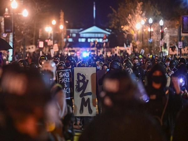 A demonstration in Washington over 2020 US Presidential elections (Credit: Reuters Pictures)