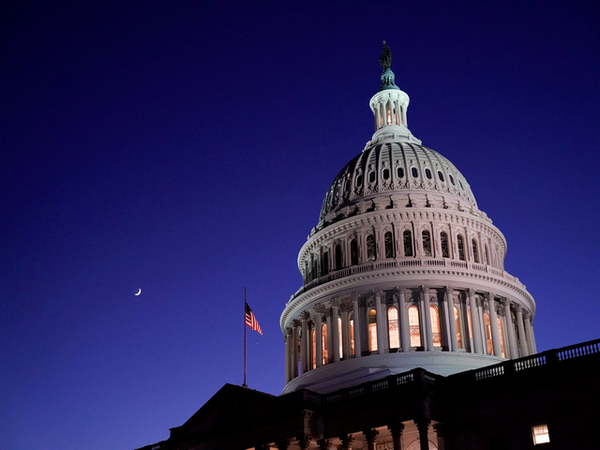 US Capitol (Photo credit: Reuters)