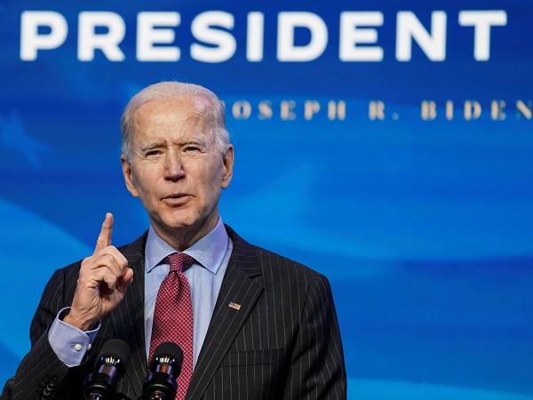 US President-elect Joe Biden.