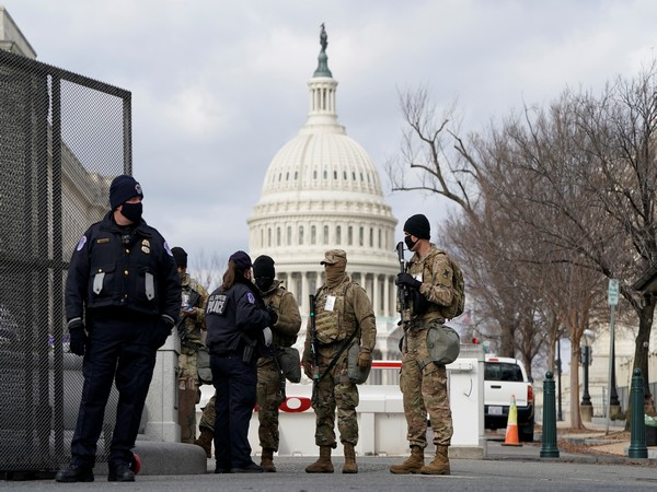 Tight security in the US capital has turned the area into a military zone. (Photo credit: Reuters)