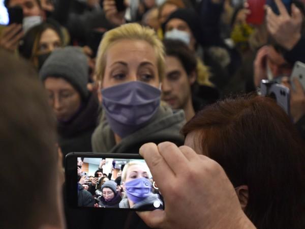 Kremlin critic Alexey Navalny's wife Yulia. (Photo credit: Reuters)