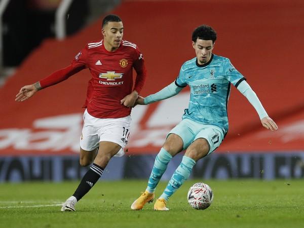 Liverpool midfielder Curtis Jones