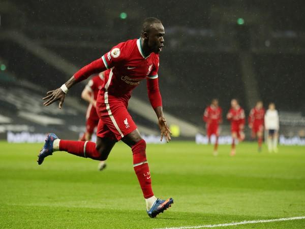 Liverpool striker Sadio Mane
