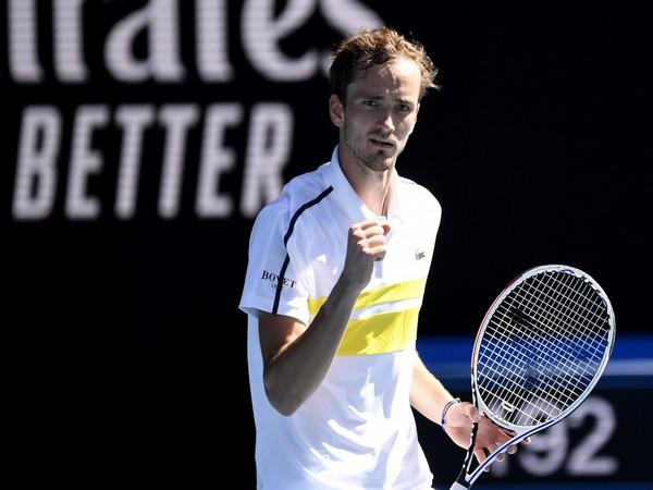 Russian tennis player Daniil Medvedev