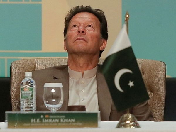 Pakistan's PM Imran Khan Khan looks on at the Trade and Investments conference during his two-day visit in Colombo, Sri Lanka February 24. (Photo Credit: Reuters)