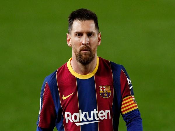 Argentine and Barcelona striker Lionel Messi (file image)