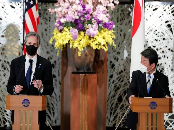 US. Secretary of State Antony Blinken and Japan's Foreign Minister Toshimitsu Motegi (Photo Credit: Reuters)