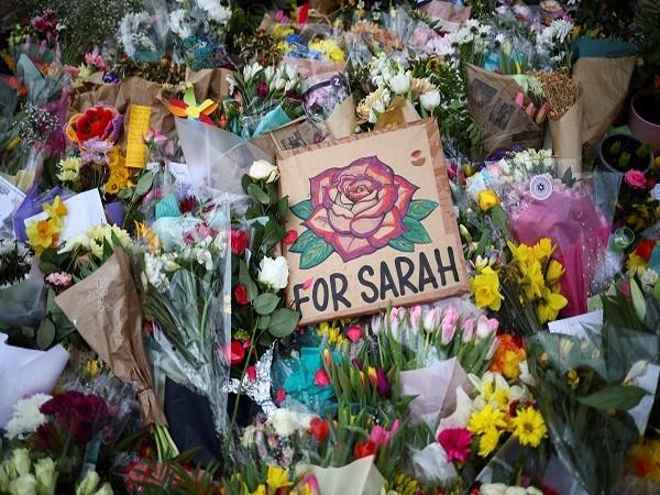 Sarah Everard's memorial (Credit: Reuters Pictures)