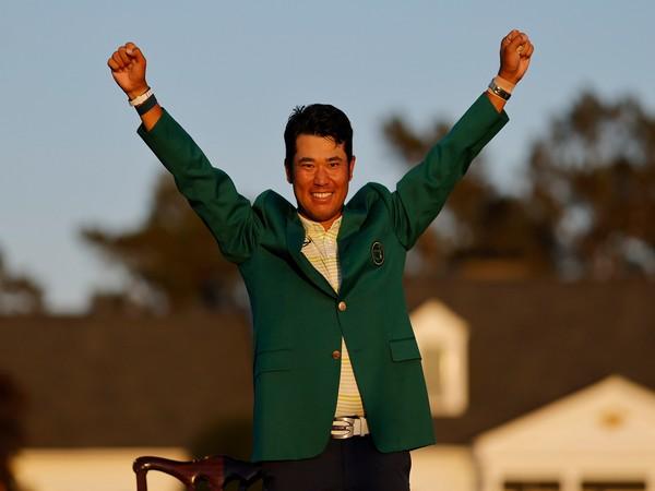 Japanese golfer Hideki Matsuyama