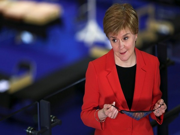 Scottish First Minister Nicola Sturgeon (Credits: Reuters Pictures)