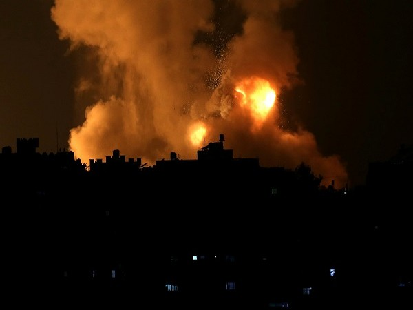 Scenes from Palestine after Israeli airstrikes (Credit: Reuters Pictures)