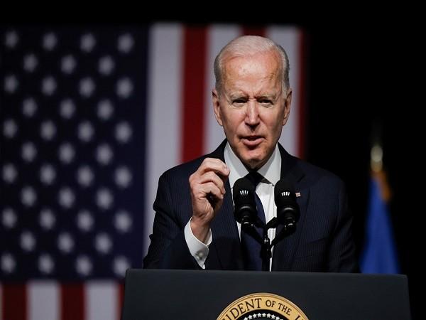 US President Joe Biden addressing centennial of the 1921 Tulsa massacre. (Credit: Reuters Pictures)