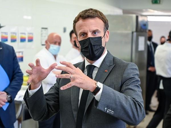 French President Emmanuel Macron (Credit: Reuters)