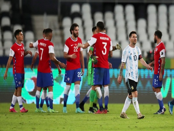 Argentina and Chile played out a 1-1 draw.